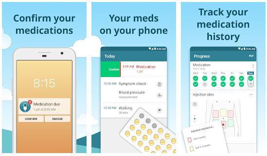 Pill and Medication Tracker