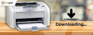 HP Laserjet 1020 Printer Driver Download for Windows 7,8,10