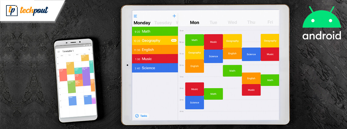 8 Best TimeTable Apps For Android in 2021