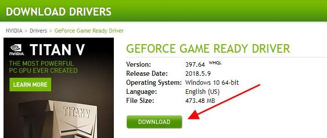 Run The .exe Setup File of The GeForce GTX 960 Graphics Card Driver