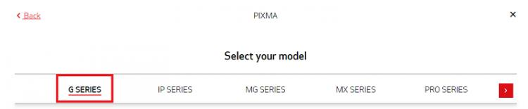 select the model type