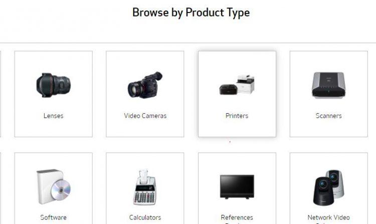 choose the product and its type