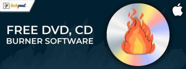 Top 10 Best Free DVD, CD Burner Software for Mac in 2021