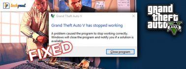 How to Fix GTA 5 (Grand Theft Auto) Crashing Issue