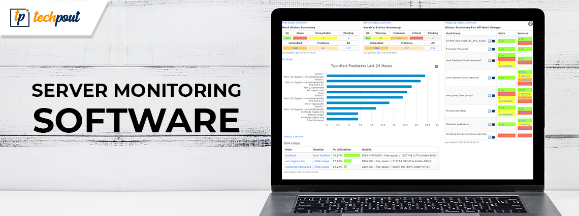 10 Best Server Monitoring Software in 2021 with GUI-Based Configurations