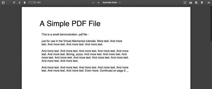 Google PDF Reader