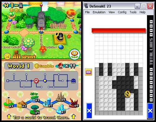 DeSmuME - Best Open Source Nintendo DS Emulator
