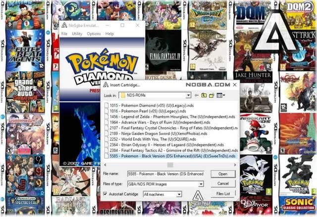 No$GBA - Best Nintendo DS Emulator Under Active Development