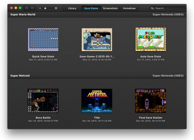 OpenEmu - Best Nintendo Ds Emulator for Mac