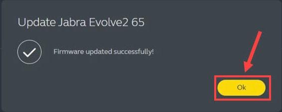 Jabra Direct Update Successfully