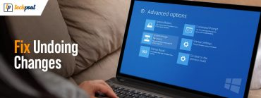 How to Fix Undoing Changes Made to your Computer on Windows 10