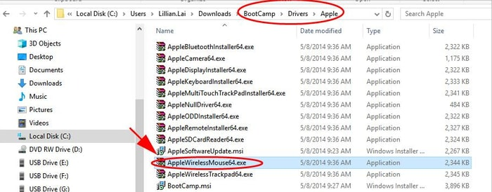 Find the AppleWirelessMouse64.exe Application File
