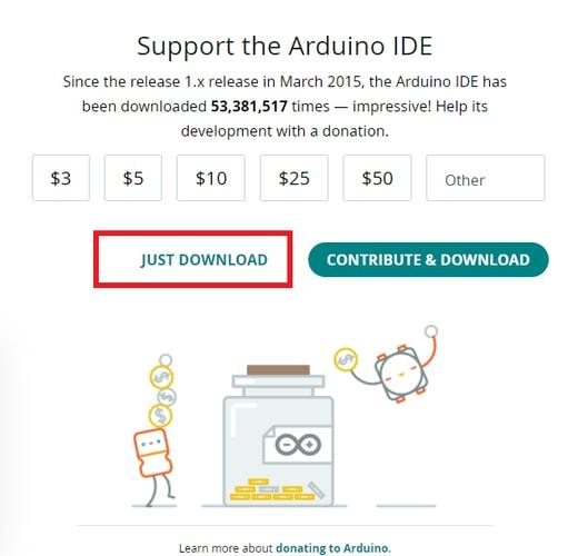 Just Download Button for Arduino Nano Driver