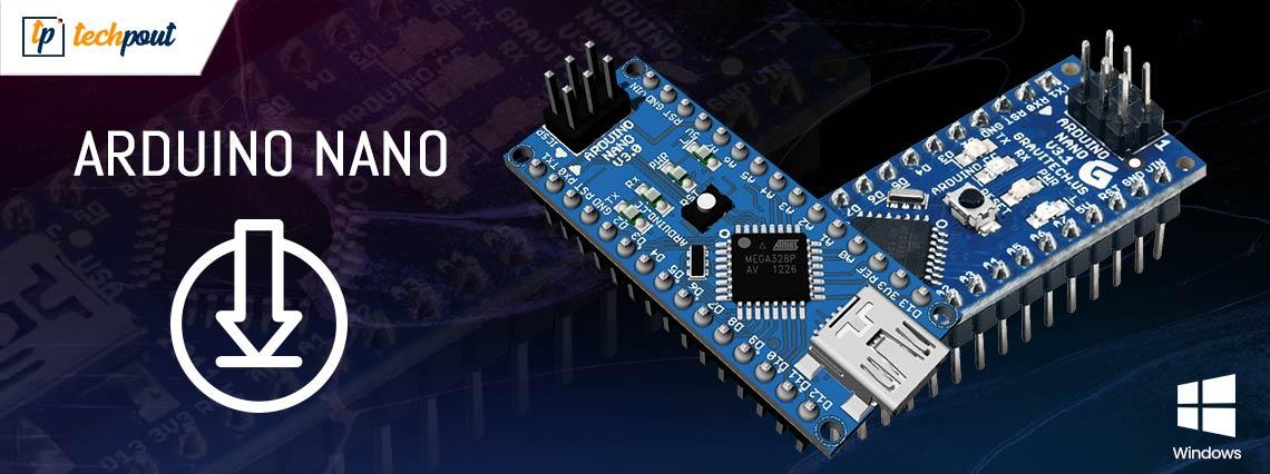 Download, Install & Update Arduino Nano Driver for Windows