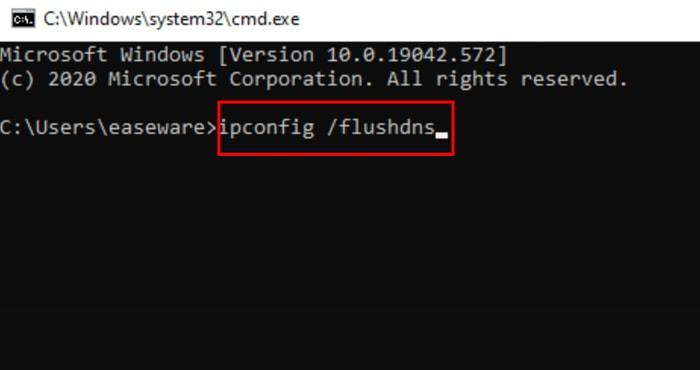 Flush DNS Using Command Prompt