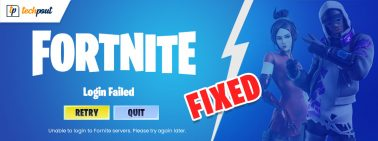 Can't Login to Fortnite Here is How To Fix Quickly and Easily