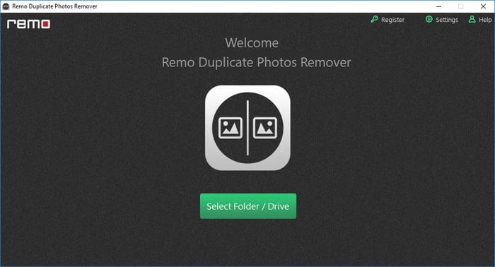 Select Folder for Duplicate Photos Remover