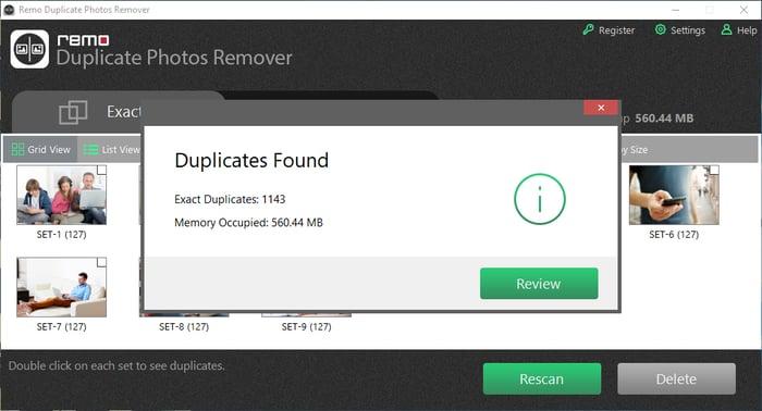 Delete All Duplicate Photos