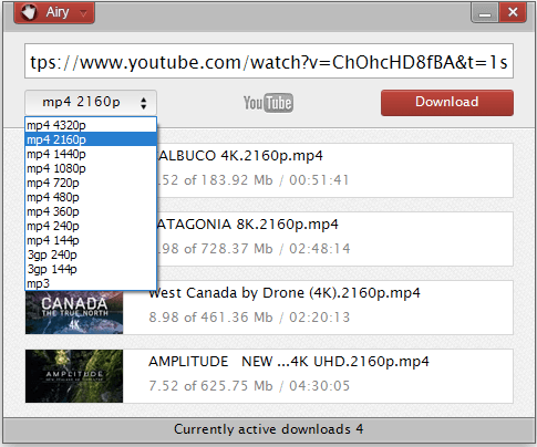 Airy YouTube Downloader