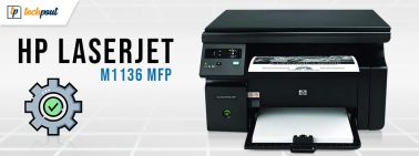 HP Laserjet M1136 MFP Scanner Driver Download, Install and Update