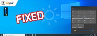 Windows 10 Brightness Slider Not Working {Fixed}
