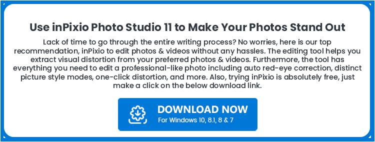photo editing tool - inPixio Studio 11