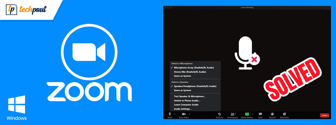 Zoom Microphone Not Working on Windows 10 PC {SOLVED}