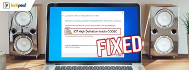 How to Fix IDT High Definition Audio CODEC Driver Problem on Windows PC