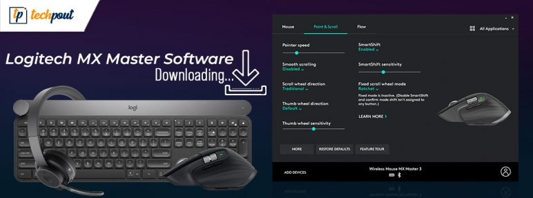 Logitech MX Master Software Free Download, Install, and Update