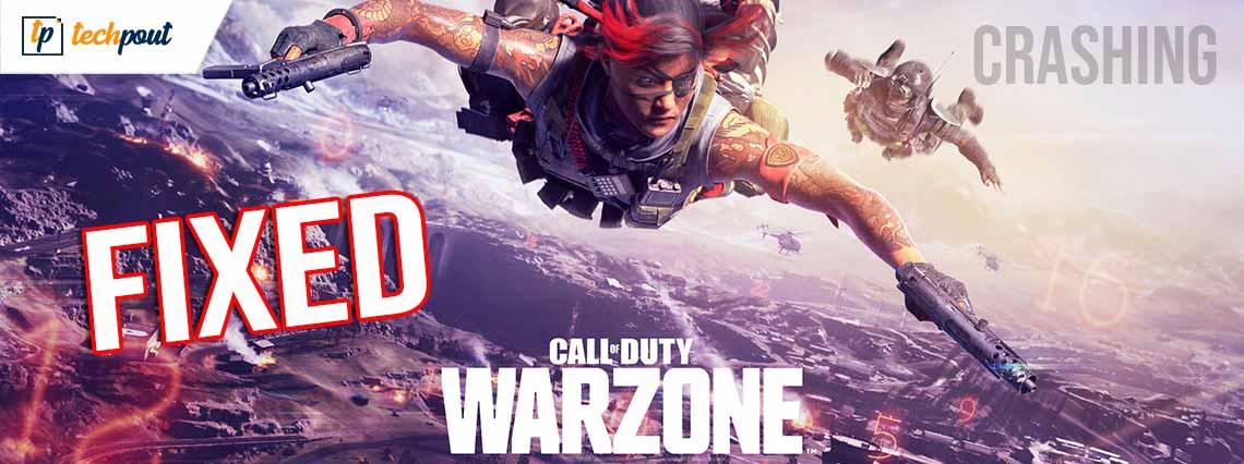 Call of Duty Warzone Crashing on PC {Fixed}