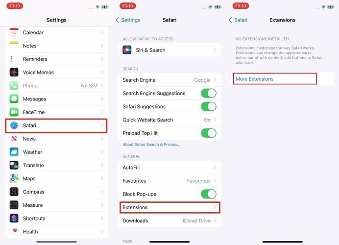 Download Safari Web Extensions in iOS 15