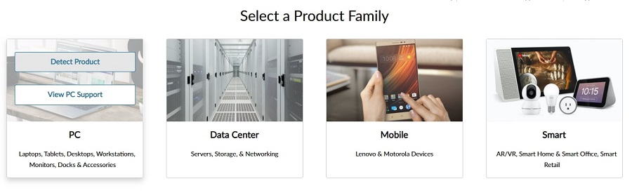 Click on Detect Product