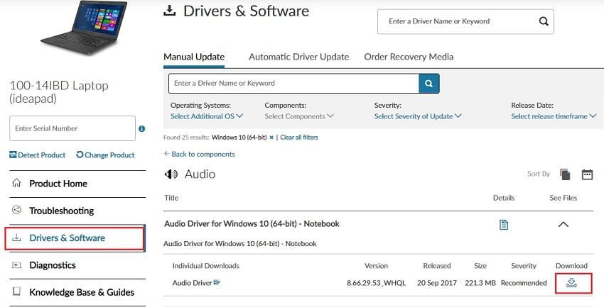 download lenovo ideapad 100 driver